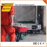 Quality Industrial Automatic Rendering Machine For Internal Wall 2.85-3.5M Standard for sale