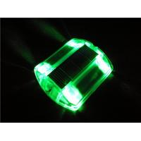 Solar Powered LED Plastic Road Stud IP68 Outdoor 100X100X20 mm Manufactures