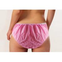 SPA Used Disposable Beauty Products Non Woven Underwear Shorts For Woman Manufactures