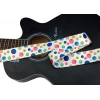 China Zhiyu black and white dot color circle guitar strap selection. Adjustable polyester-cotton guitar strap - an artistic on sale