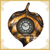 Whosales resin antique wall clock H078WA Manufactures