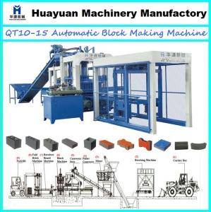 China Hydraulic interlocking brick machine price QT10-15 automatic interlocking brick making machine (hot sale in Africa) on sale
