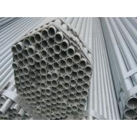 EFW Steel Hot-dip Galvanized Pipes / Welded Hollow Steel Pipe Manufactures