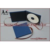 Quality Single Fabric Linen DVD CD Case for sale