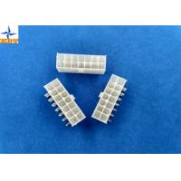 Dual Row Wafer Connector 4.2mm Pitch Right Angle Mini-Fit Header without Flange Manufactures