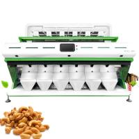 China Cashew Nuts Sorter Color Sorting Machine CCD Six Chutes Cashew Color Sorter on sale