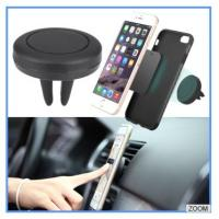 Air Vent Car Mount Phone Holder Magnetic Rubber Lightweight For Watching Movies Manufactures