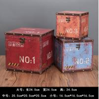 Quality Vintage European MDF Storage Trunk Box Small Treasure Chest for Kids Girls Boys Gifts for sale