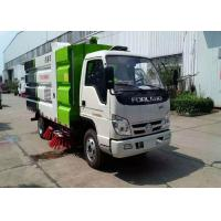 China Mini Broom Road Sweeper Truck 4m3 3m3 Forland RHD LHD Street Sweeper Machine on sale