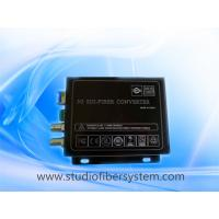 3GSDI fiber transmitters and receivers for SDI signals with RS485 transmission over fiber Manufactures