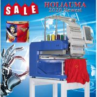 China 2020 single head 15 needle computerized embroidery machine price brother embroidery machine quality for cap/flat embroid on sale