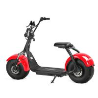 Buy cheap Double Disc-braking Electric Scooter Citycoco Colorful Adult Electric Motorcycle for sale from wholesalers
