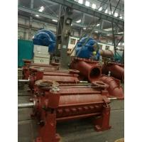 China Red Color Multistage Submersible Water Pump , Two Stage Centrifugal Pump on sale