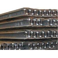 GB Standard Steel Crane Rail , 28 - 44mm Web Thickness QU120 Manufactures
