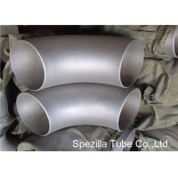 Buy cheap 1/2'' - 80'' Stainless Steel Pipe Fittings Seamless Short Radius 90 Degree Elbow from wholesalers