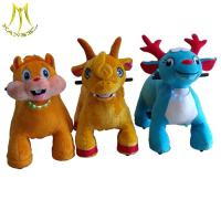Hansel stuffed walking animal kids riding horse electronic toys from China Manufactures