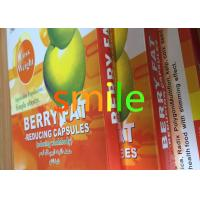 Adults Berry Leisure Slimming Capsule , Organic Max Diet Pills No Side Effect Manufactures