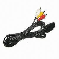 China AV Audio and Video Cable for Nintendo 64/Gamecube/SNES  on sale
