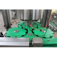 Glass Bottle Capping And Labeling Machine , Liquid Filling And Capping Machine Manufactures