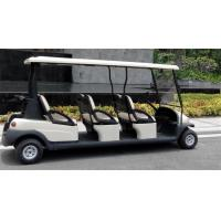 Comfortable Electric 6 Passenger Golf Carts For Mountain Energy Saving Manufactures