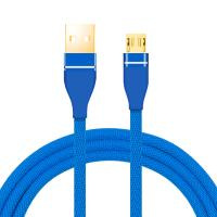 Fast Charging USB Data Cable Nylon Braid Material 8 Pin For IPhone Manufactures
