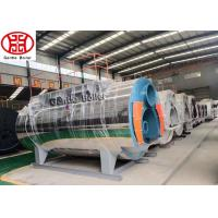 Energy Saving Industrial Oil Gas Steam Boiler Fully Automatic Fire Tube For Heating Manufactures