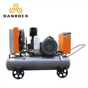 China Mini Portable Screw Air Compressor Electric Motor Driven Open Frame on sale