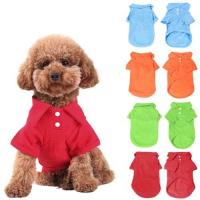 blank Pet Puppy Summer Shirt Pet T Shirt pet accessories wholesale china Manufactures