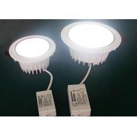 10W LED Ceiling Downlights Dimmable 100 - 120LM / W , IP44 LED Recessed Downlight Manufactures