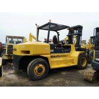 20 Ton Used Diesel Forklift Komatsu FD200 3792h Working Hours One Year Warranty Manufactures