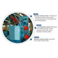 China Q37 Series Hook Type Shot Blasting Machine Features No Pit For Surface Cleaning on sale