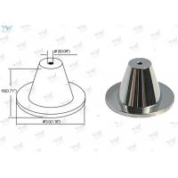 Chrome Finished Ceiling Cable Hanging System Brass Ceiling Mounting Base Manufactures
