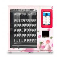 China muffins vending machine with x-y axis elevator and adjustable channel width function on sale