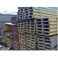 Quality Black Industrial Galvanized Steel Products Stainless Steel U Channel Q235 SS400 for sale