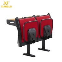 Upholstery Fabric University Steel Book Holder College Classroom Seating With Writing Desk Manufactures