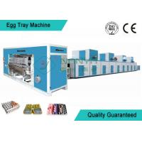 China Full Automatic Moulding Pulp Egg Tray Machine with 4000 Pcs/H on sale