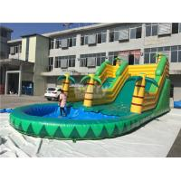 China Kids Inflatable Water Slides on sale