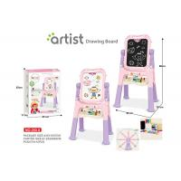 Toddlers Arts And Crafts Toys Magnetic Drawing Boards W / Stand 2 Sides Painting Manufactures