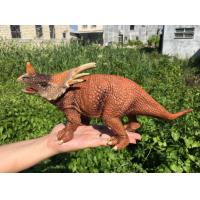 L30*W10*H14 Walking Triceratops Toy / Plastic Triceratops Dinosaur Toy Manufactures
