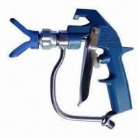 China Graco Heavy-duty Texture Type Spray Gun with 4 Fingers Trigger and 5,400psi Pressure on sale