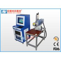 China Table Co2 Flying Laser Engraving Machine For Wood Plastic Bottle on sale
