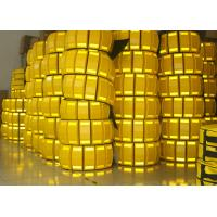 3 Meters Temporary Speed Bumps PP Material Double Sides Reflective Manufactures