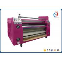 Automatic Roll To Roll Heat Transfer Machine Sublimation Pink Oil CE Manufactures