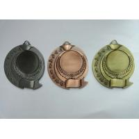 Zinc Alloy Antique Gold Plated 3D Die Cast Military, Sport, Awards Medals without Enamel Manufactures