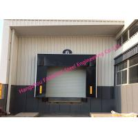 Quality Mechanical Retractable Inflatable Industrial Garage Doors Seals Polyester Fabric Door Shelter for sale
