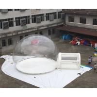 High Strength Giant Transparent Inflatable Bubble Tent With High Polymer For Party Manufactures