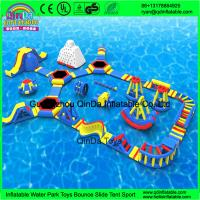 Buy cheap Giant inflatable water park/Summer games for adult/used water park slides for from wholesalers