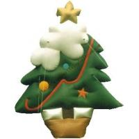 Yellow Star Custom Shaped Balloons / Inflatable Christmas Tree For Celebration Manufactures