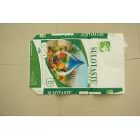 Biodegrable Plastic Packaging PP Woven Bags Flexo Printing For Flour Rice Sugar Manufactures