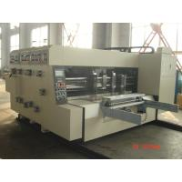 Slotting Die-Cutting Automated Carton Box Printing Machine Manufactures